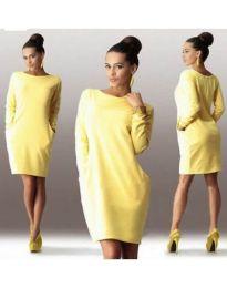 Šaty - kód 341 - žlutá