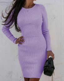 Šaty - kód 0891 - fialová