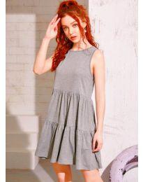 Šaty - kód 4471 - šedá