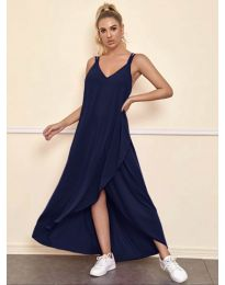 Šaty - kód 3083 - tmavě modrá