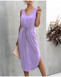 Šaty - kód 681 - fialová