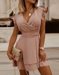 Šaty - kód 5654 - růžová