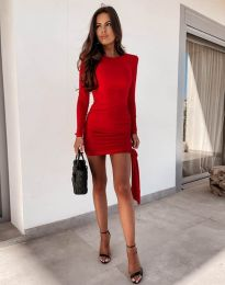 Šaty - kód 11592 - červená