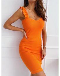 Šaty - kód 029 - oranžová