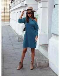 Šaty - kód 8171 - tyrkysový