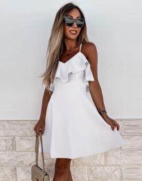 Šaty - kód 2739 - bíla