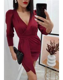 Šaty - kód 0515 - bordeaux