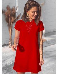 Šaty - kód 2299 - červená
