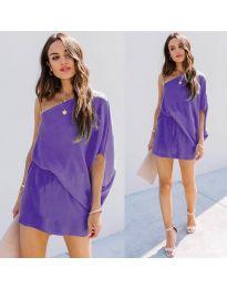 Šaty - kód 9933 - fialová