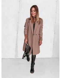 Kabát - kód 4540 - pudrová