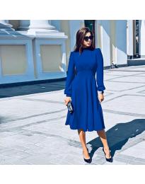 Šaty - kód 4572 - modrý