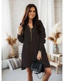 Šaty - kód 6113 - černá
