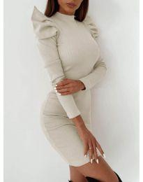 Šaty - kód 9303 - bílá