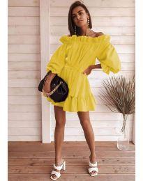 Šaty - kód 3386 - žlutá