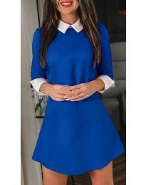 Šaty - kód 771 - modrá