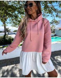Šaty - kód 6947 - růžová