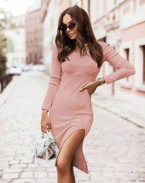 Šaty - kód 6593 - růžová