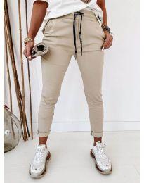 Kalhoty - kód 2020 - bežová