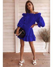 Šaty - kód 3386 - tmavě modrá