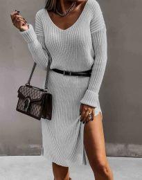 Šaty - kód 6829 - bíla
