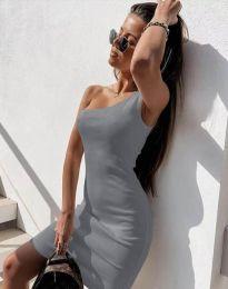 Šaty - kód 6412 - šedá