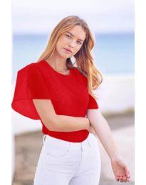 Tričko - kód 527 - červená