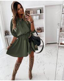 Šaty - kód 5856 - zelená