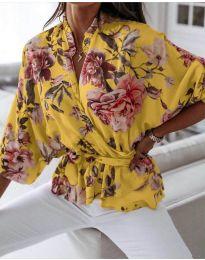 Košile - kód 127 - žlutá