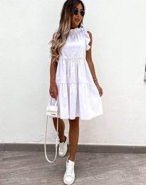 Šaty - kód 2663 - bílá