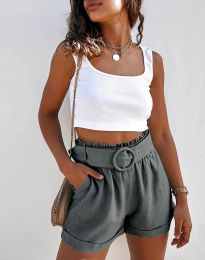 Krátké kalhoty - kód 8164 - tmavě šedá