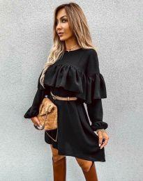 Šaty - kód 6913 - černá
