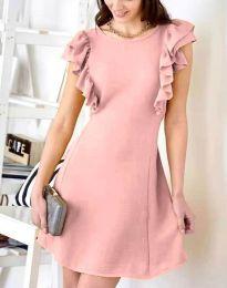 Šaty - kód 7111 - pudrová