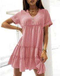 Šaty - kód 7205 - růžová