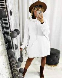 Šaty - kód 2933 - bílá