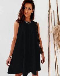Šaty - kód 9862 - černá