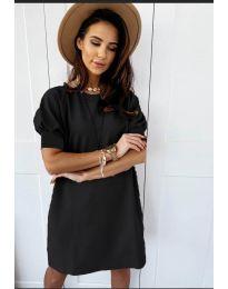 Šaty - kód 9868 - černá