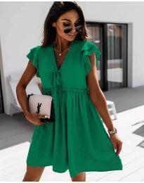 Šaty - kód 2093 - zelená