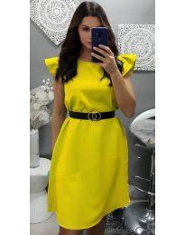 Šaty - kód 703 - žlutá