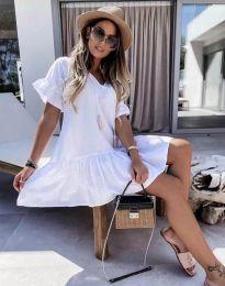 Šaty - kód 6144 - bíla
