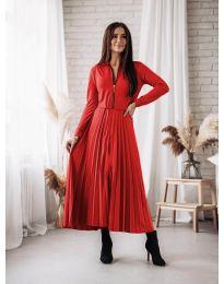 Šaty - kód 1544 - červená