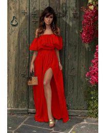 Šaty - kód 3336 - červená