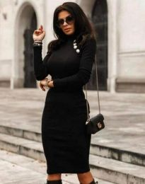 Šaty - kód 9768 - 3 - černá
