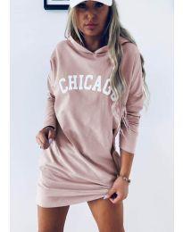 Šaty - kód 1424 - růžová