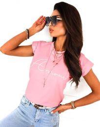 Tričko - kód 2517 - růžova