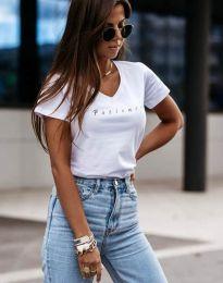 Tričko - kód 4500 - bílá