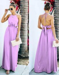 Šaty - kód 6121 - světle fialová