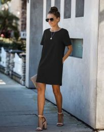Šaty - kód 4408 - černá