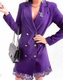 Šaty - kód 6955 - fialová