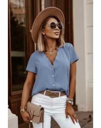 Tričko - kód 0606 - modrý