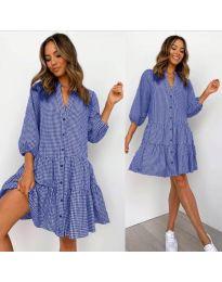 Šaty - kód 965 - modrá
